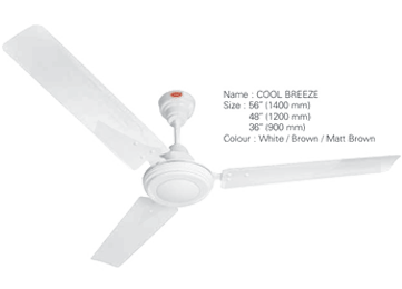 Cool Breeze Ceiling Fan Domestic Fans Ac Amp Coolers
