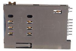 Metal 8 Pin Sim Card Holder Push Push Type 2