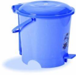Plastic Round Pedal Dustbin
