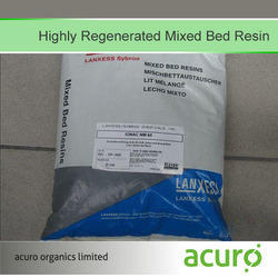Highly Regenerated Mixed Bed Resin