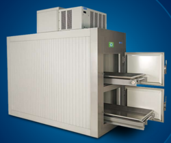 Fully Automatic Mortuary Cold Rooms, -5 To -18 Deg C, Upto 415 V