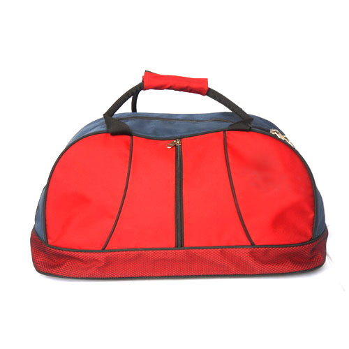 f26665254535 Polyester Red And Blue Stylish Travel Bag