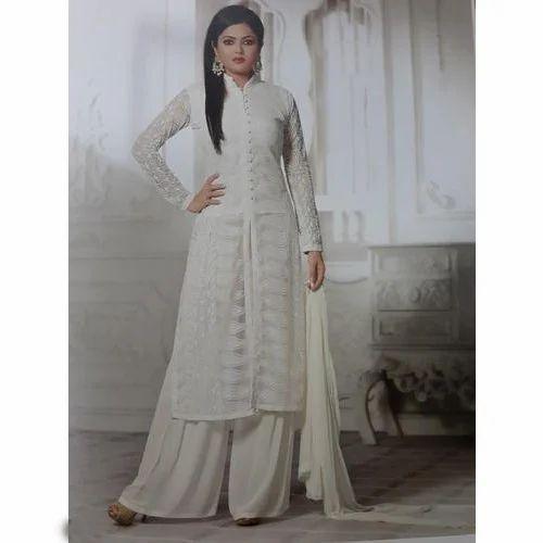 1d179f2e08a9 Ladies Designer Suit - Party Wear White Suit Manufacturer from Rudrapur