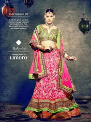 Semi-Stitched Georgette Bollywood Lehangas, Age: 15-55