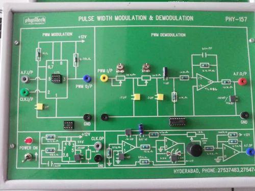Communication Lab - ASK Modulator Trainer Kit Manufacturer from Howrah