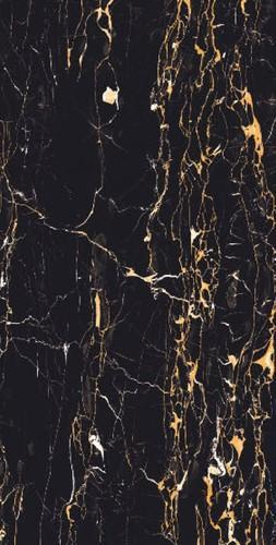Black And Multicolour Portoro Gold Tile 10 15 Mm