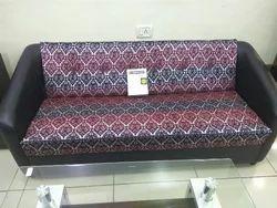 Big Black Red Sofa