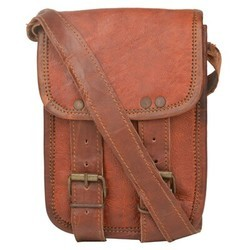 Genuine Leather Regular Messenger Bag 139