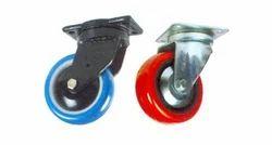 Poly Urethane Plastic Castors Wheels