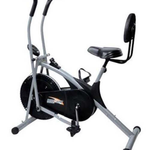Peak Fitness Manual Air Bike for Gym