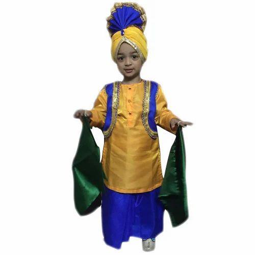 Kids Punjabi Fancy Dress | Gandhrav Dresses | Manufacturer ...