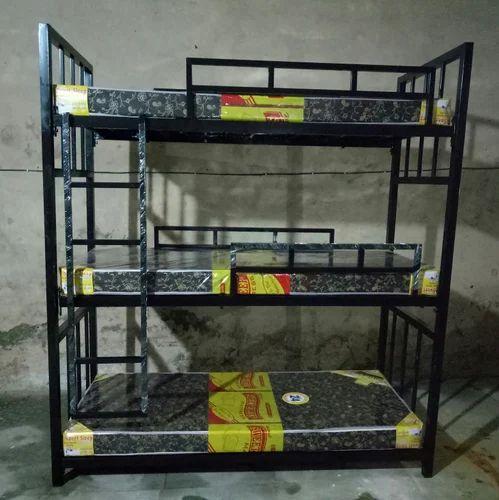 3 Tier Bunk Bed Rs 9500 Piece Kohli Enterprises Id 16998984973