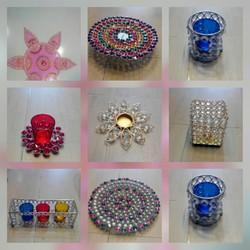 Crystal Tea Light Items