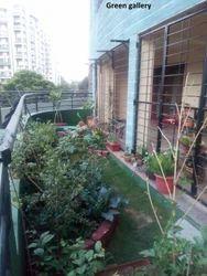 Decorative Terrace Garden