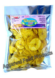 Aggarwal Food Product Banana Chips, Pack Size: 150 Grams, Pack Type: Packet