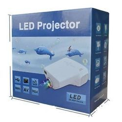 10-100 LED Mini Projector for TV,DVD,PC with SD,USB,AV In V