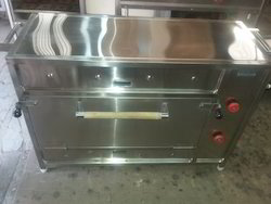 SS Gas Pizza Oven