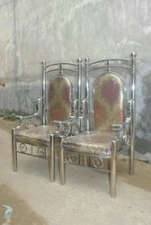Stainless Steel Jaimala Chairs