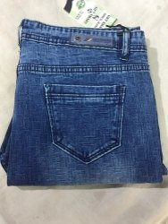 Blue Button, Zip Ladies Skinny Fit Solid Jeans, Waist Size: 34