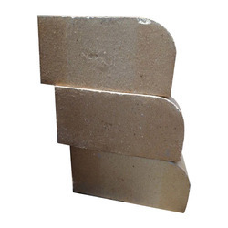 Clay Half Round Refractory Bricks, For Foundry, Boiler and Furnace, Packaging Type: Loose