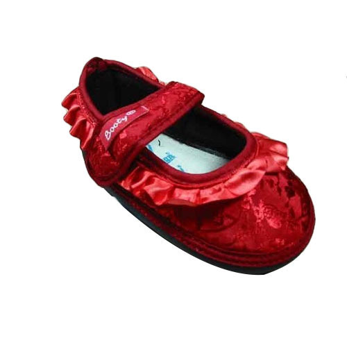 09d5ca82ed7b2 Laced Baby Red Low Ankle Booty Shoes