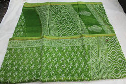 Printed Chanderi Silk Saree for Wedding
