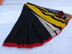 Cotton Pom Pom Saree, Length: 6.3 m
