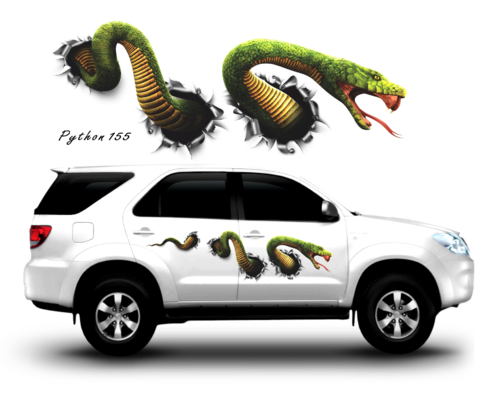 Auto graphics graphic sticker cobra python