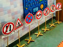 Traffic Sign Stands for kids knowledge