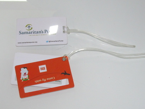 86x54mm Luggage Tags, Packaging Type: Piece