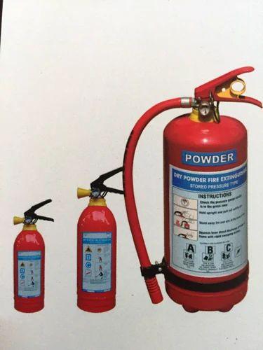 ABC Type Fire Extinguishers 4 kg Capacity