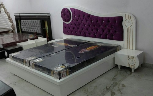 Modern Double Bed With Box Size 6 X 6 Feet Rs 19500 Piece Id