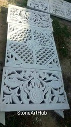 Marble Carving Jali Home Temple