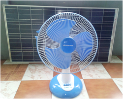 Solar DC Table Fan12v, 24W