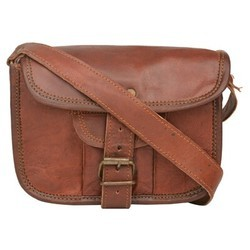 Genuine Leather Regular Messenger Bag 138