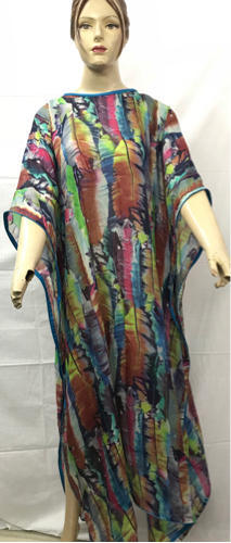 db42fce86b553 Party Wear Silk Printed Long Kaftans, Rs 1200 /piece, Mohammad ...