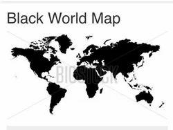 Black white world map wallpaper rs 550 square feet aalchemy black white world map wallpaper gumiabroncs Images