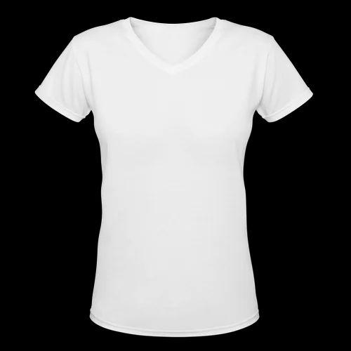 ca4d2c8e202b Cotton V-neck Women V Neck T Shirt, Size: XL, Rs 150 /piece   ID ...