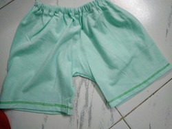 Cotton Unisex Baby Half Pants