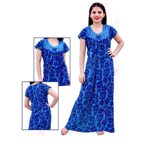 5ed8dfdaff Free Size Pure Cotton Nighty, Rs 200 /piece, Aar K Trading Company ...