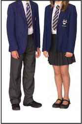 Polyester Both Children School Uniform