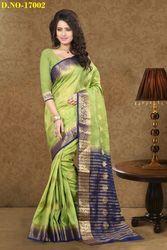 Designer Maheshwari Silk Saree