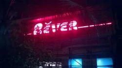Acrylic LED Letter Signage