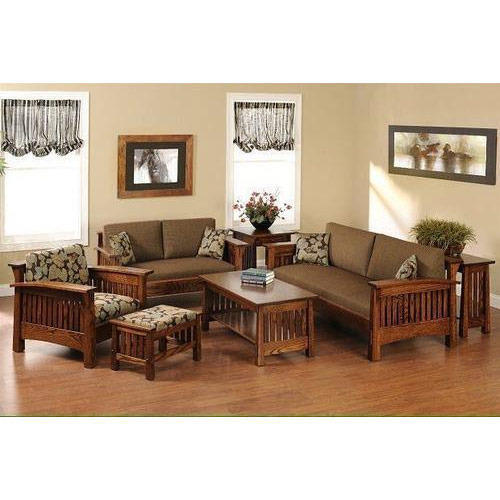 Teak Wood Fancy Sofa Set