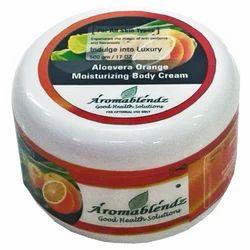Aromablendz Aloevera Orange Moisturizing Body Cream