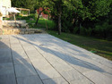 Light Grey Sandstone Patio Paving Slabs