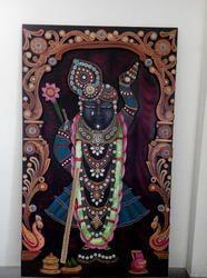 Shrinathji Wood Mural