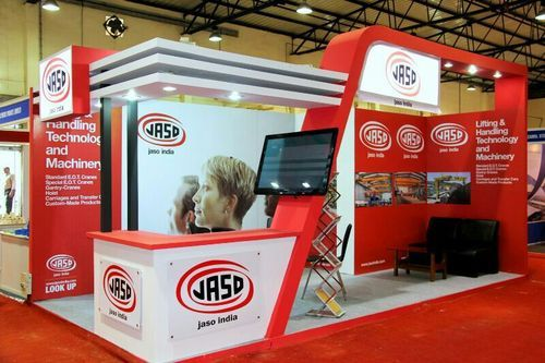 Exhibition Stall Rates : Exhibition stall design red fox