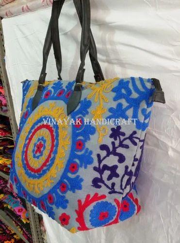 6d603e8f582a Handmade Suzani Embroidered Ladies Bag - Vinayak Handicraft