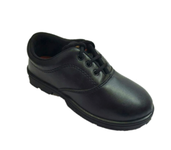 PU Black Lehar Uniform School Shoes, Packaging Type: Box